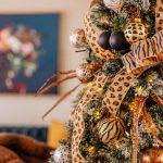 Animal Print Christmas Tree Theme