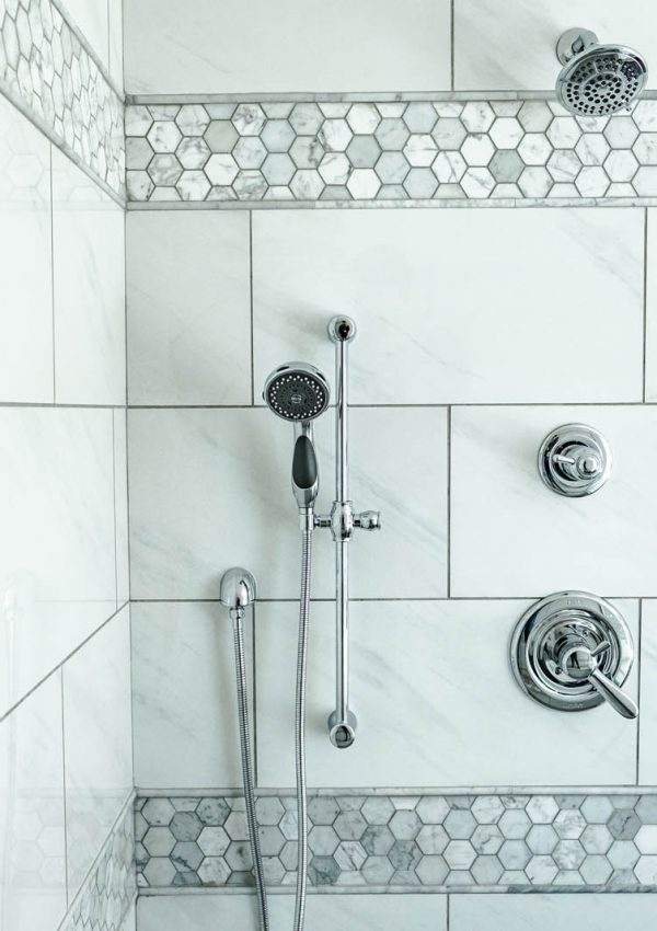 Master Bathroom Tile from Floor & Decor