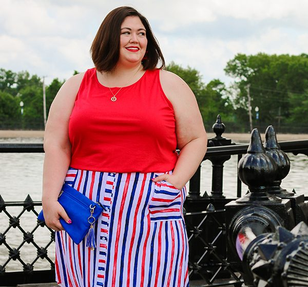 Red, White, and Blue Separates from Lane Bryant