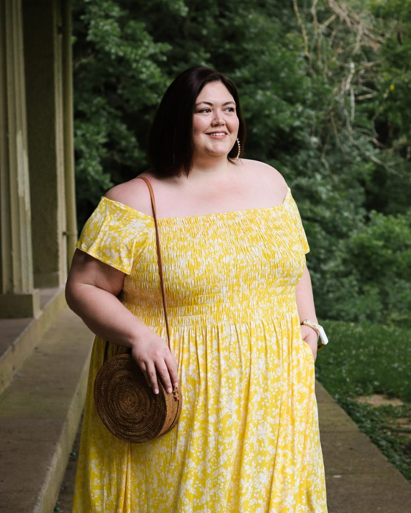 Lane Bryant summer outfit idea.