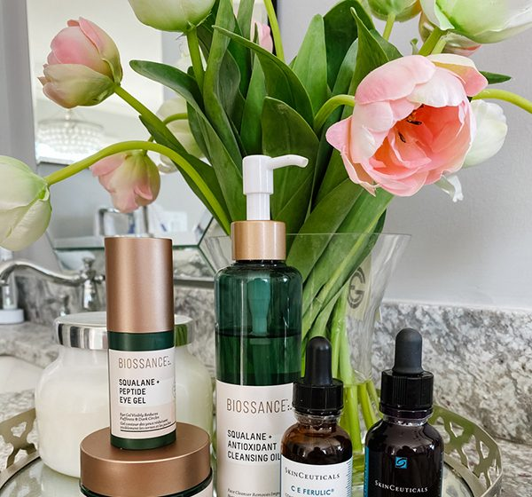 Skincare Before and After Results: SkinCeuticals and Biossance
