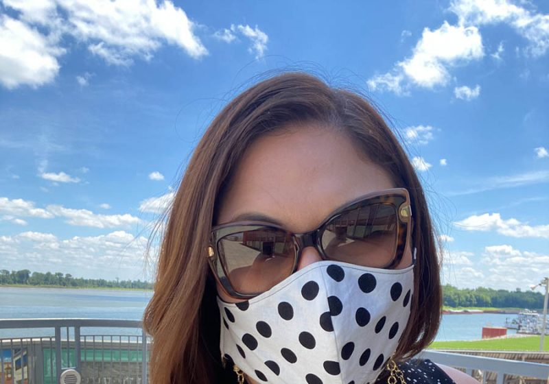 Plus Size Business Casual Outfits… with Masks!