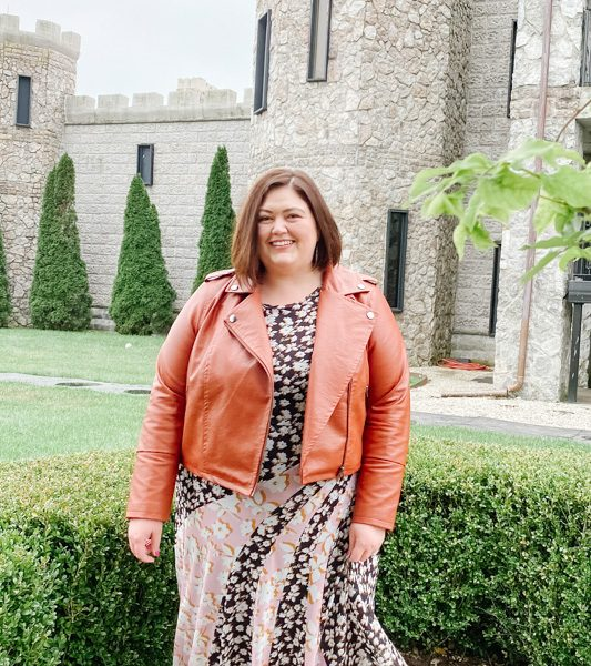 Plus size ELOQUII Unlimited outfit for fall
