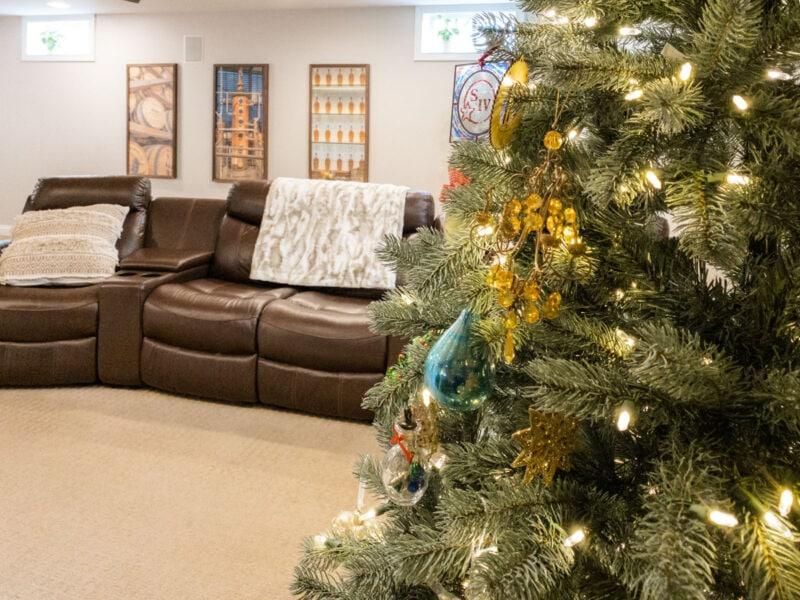 Bourbon Christmas tree