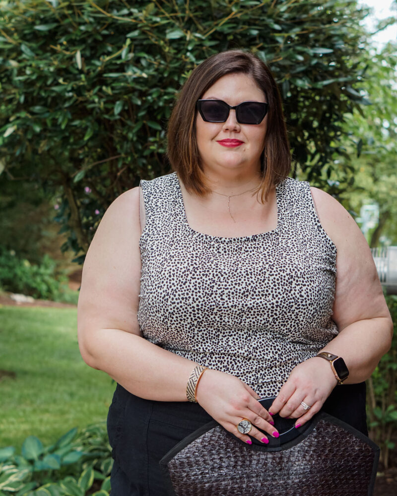 Plus size jewelry and sunglasses