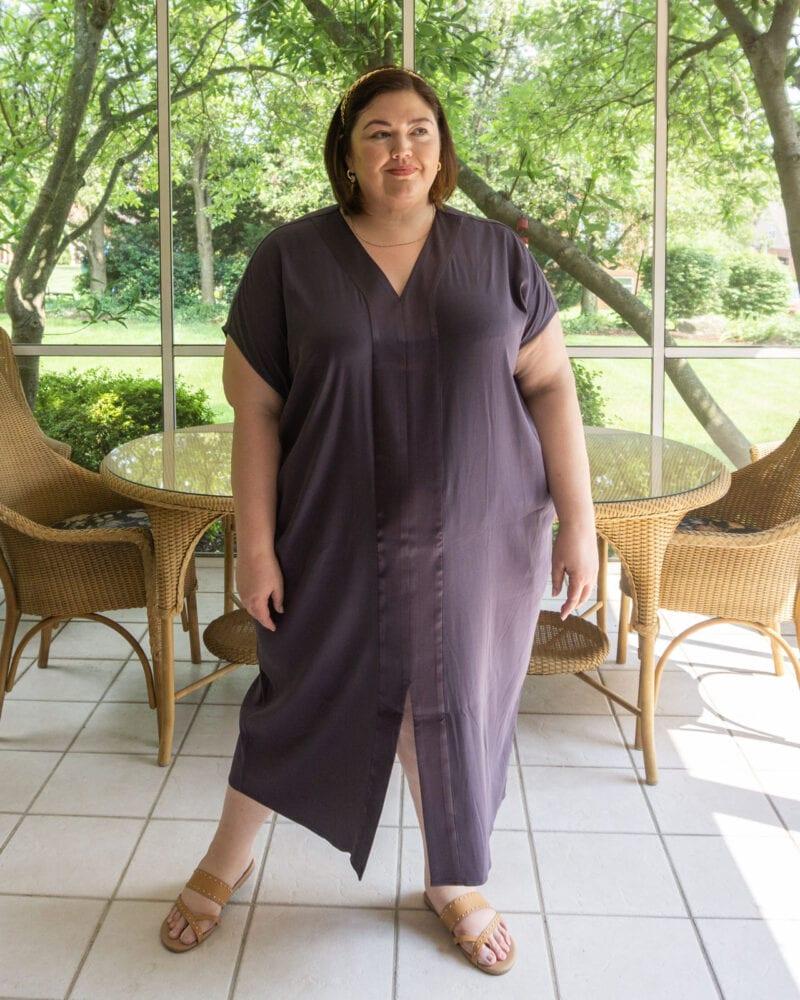 Flowy caftan dress from Universal Standard