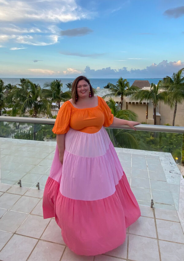 What I Wore: Plus Size Beach Outfits