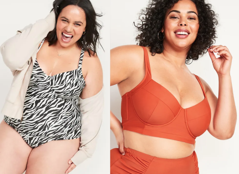 Plus size swim from Old Navy