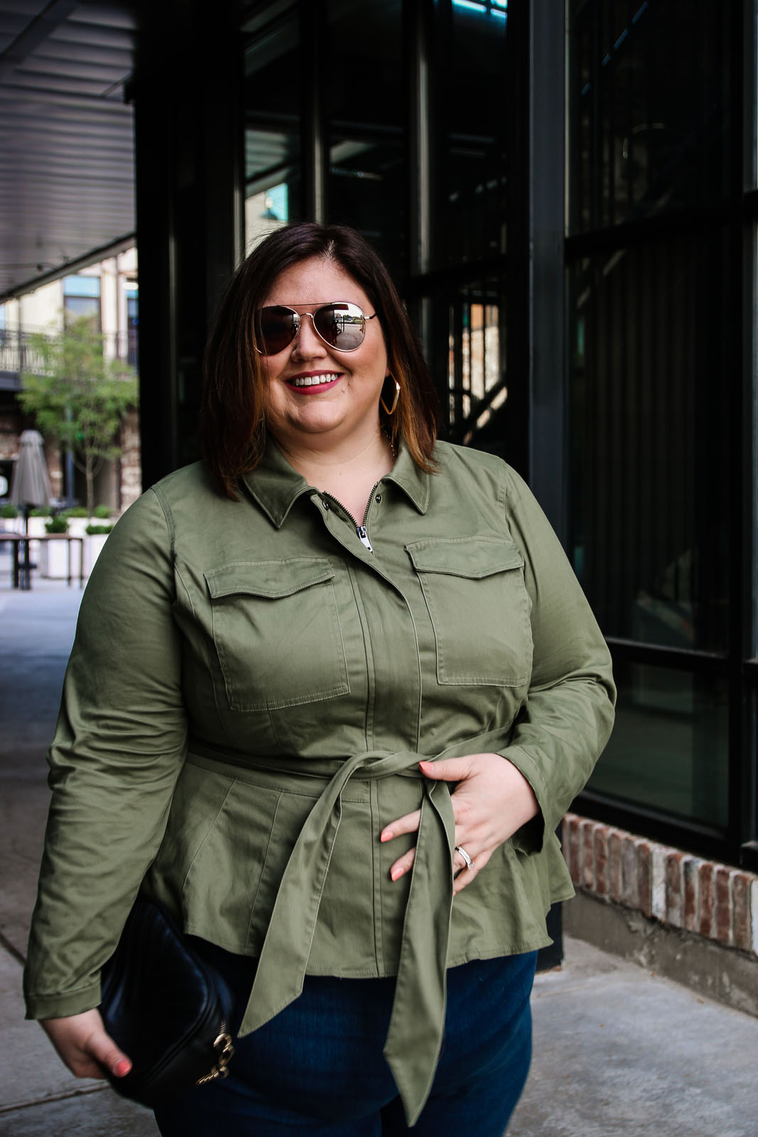 Fall Transition and Plus Size Denim